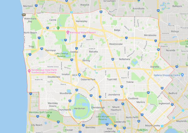 Stirling - Gillies Group Plumbing - service area