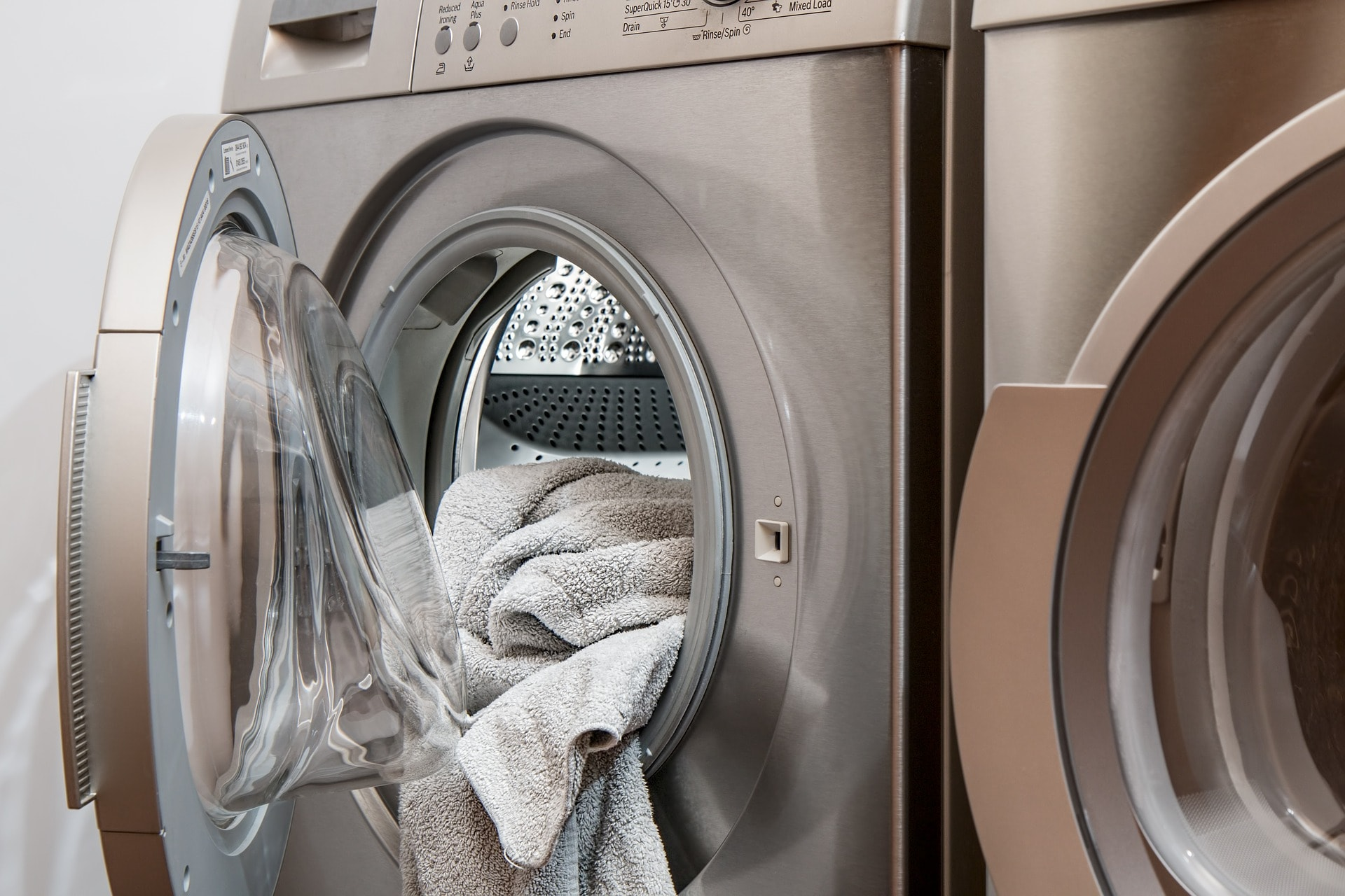 How to pick up water and energy efficient appliances - washing machine